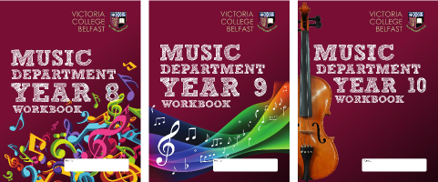 Music Department Workbooks (Victoria College, Belfast)
